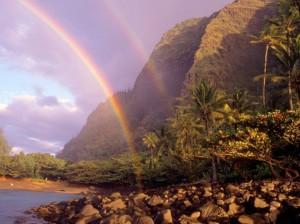 первичная и вторичная радуги