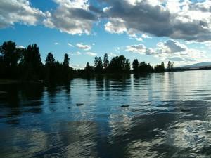 озеро флатхед