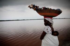 Озеро Ретба Сенегал